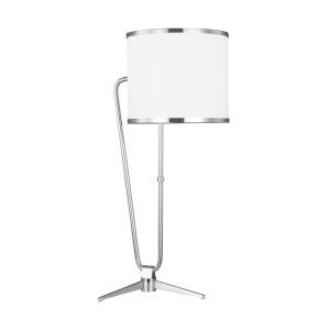 Jacobsen Polished Nickel One-Light Title 24 Table Lamp