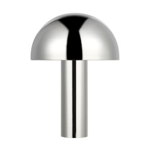 Cotra Polished Nickel One-Light Table Lamp
