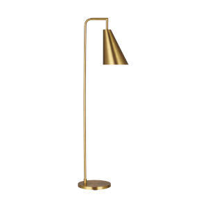 Jamie Burnished Brass 12-Inch One-Light Title 24 Floor Lamp