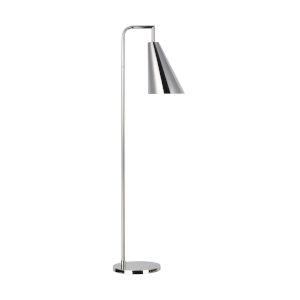 Jamie Polished Nickel 12-Inch One-Light Title 24 Floor Lamp