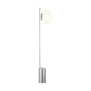Lune Polished Nickel One-Light Title 24 Floor Lamp