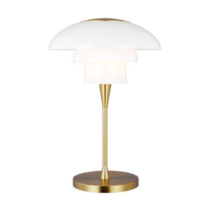 Rossie Burnished Brass One-Light Table Lamp
