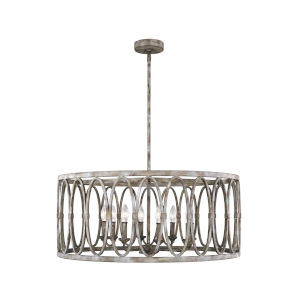 Patrice Deep Abyss 32-Inch Eight-Light Chandelier
