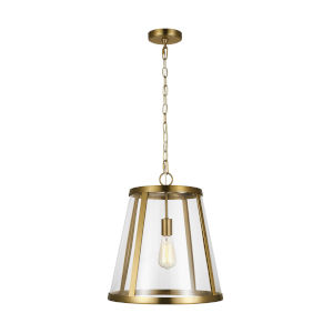 Harrow Burnished Brass 16-Inch One-Light Pendant