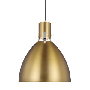 Brynne Burnished Brass 14-Inch LED Pendant