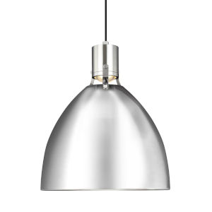 Brynne Polished Nickel 17-Inch LED Pendant