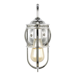 Urban Renewal Polished Nickel Six-Inch One-Light Wall Sconce