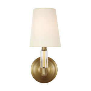 Lismore Burnished Brass Six-Inch One-Light Wall Sconce