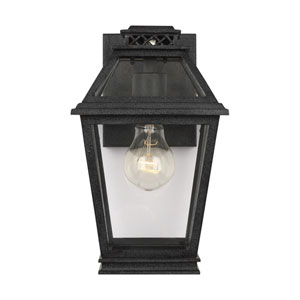 Falmouth Dark Weathered Zinc One-Light Outdoor Wall Sconce
