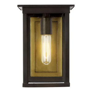 Freeport Heritage Copper Black Seven-Inch One-Light Outdoor Wall Sconce