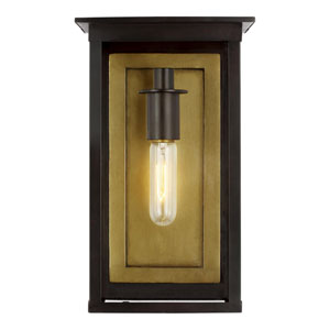 Freeport Heritage Copper Black Eight-Inch One-Light Outdoor Wall Sconce