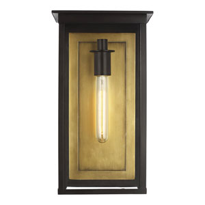 Freeport Heritage Copper Black Nine-Inch One-Light Outdoor Wall Sconce