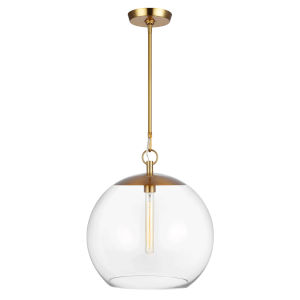 Atlantic Burnished Brass 16-Inch One-Light Pendant