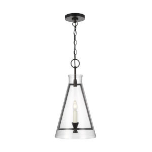 Keystone Aged Iron 11-Inch One-Light Pendant