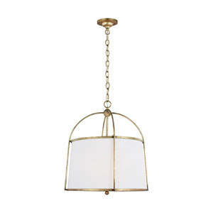 Stonington Antique Gild Two-Light Chandelier