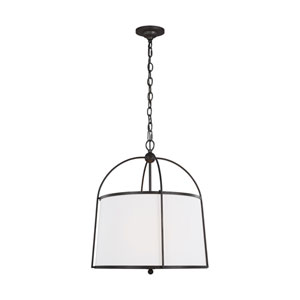 Stonington Smith Steel Two-Light Chandelier