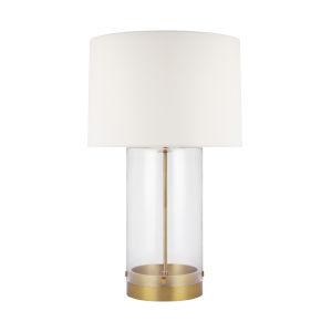 Garrett Burnished Brass 31-Inch LED Table Lamp