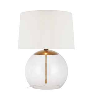 Atlantic Burnished Brass 28-Inch LED Table Lamp