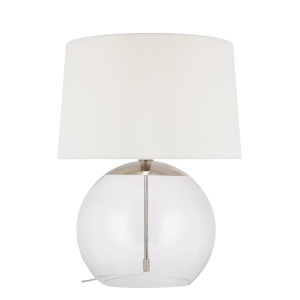 Atlantic Polished Nickel 28-Inch LED Table Lamp
