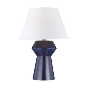 Abaco Indigo 17-Inch LED Inverted Table Lamp Title 24