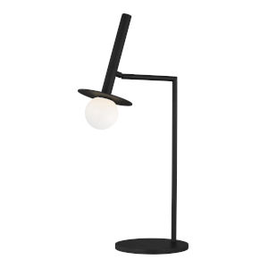 Nodes Midnight Black LED Table Lamp