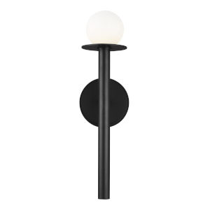Nodes Midnight Black 5-Inch One-Light Wall Sconce
