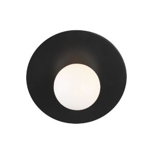 Nodes Midnight Black 8-Inch One-Light Wall Sconce