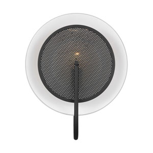 Gesture Midnight Black Wall Sconce