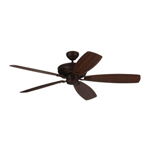 Bonneville Max Roman Bronze 60-Inch Ceiling Fan