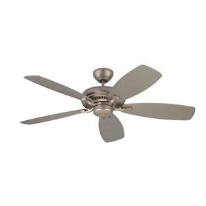 Designer Max Brushed Pewter 52-Inch Ceiling Fan