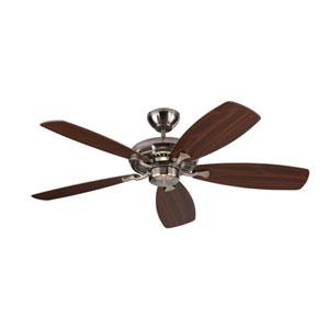 Designer Max Brushed Steel 52-Inch Ceiling Fan