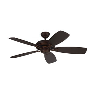 Designer Max Roman Bronze 52-Inch Ceiling Fan