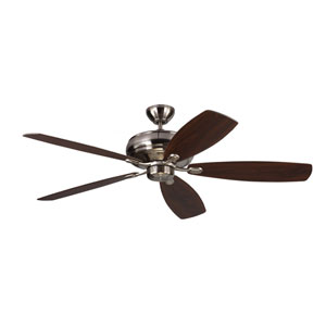 Embassy Max Brushed Steel 60-Inch Ceiling Fan