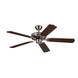 Homeowner Max Brushed Steel 52-Inch Ceiling Fan