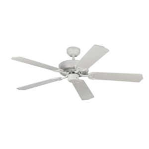 Homeowner Max Rubberized White 52-Inch Ceiling Fan