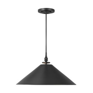 Capri Aged Iron 24-Inch One-Light Pendant
