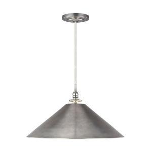 Capri Antique Nickel 24-Inch One-Light Pendant