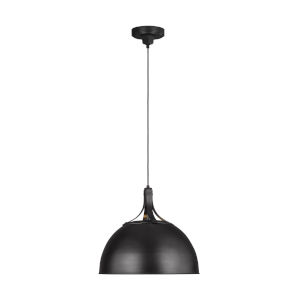 Logan Aged Iron 18-Inch One-Light Pendant