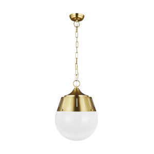 Arlett Burnished Brass 13-Inch Two-Light Pendant
