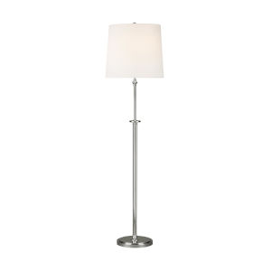 Capri Polished Nickel 65-Inch Two-Light LED Table Lamp