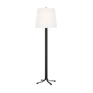 Logan Aged Iron 68-Inch Two-Light LED Table Lamp