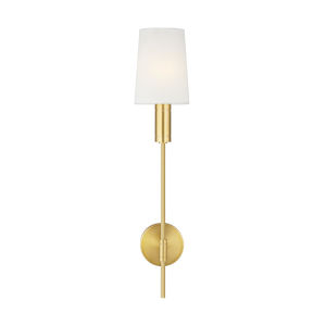 Beckham Modern Burnished Brass Six-Inch One-Light Bath Vanity
