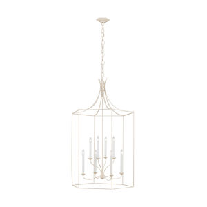 Bantry House Blush Eight-Light Title 24 Chandelier