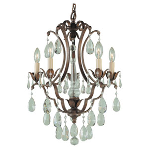 Maison de Ville Five-Light Chandelier