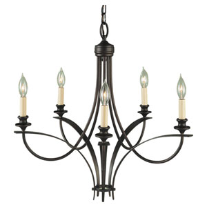 Boulevard Five-Light Chandelier