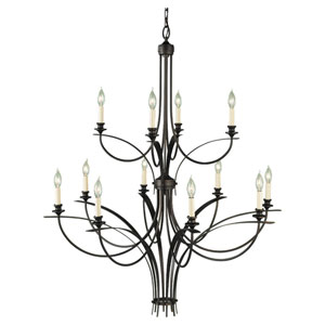 Boulevard Two-Tier Chandelier