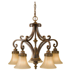 Drawing Room Walnut Chandelier