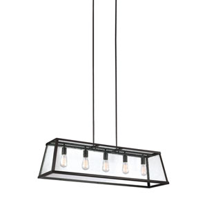 Harrow Oil Rubbed Bronze Five-Light Pendant