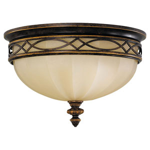 Edwardian Flush Ceiling Light