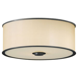 Casual Luxury Dark Bronze Flush Mount